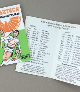 Los Angeles Aztecs 1977 Schedule