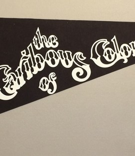 1978 Colorado Caribous Team Pennant