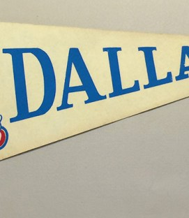 Dallas Tornado Team Pennant