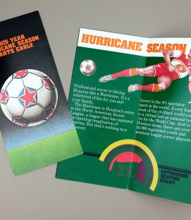 Houston Hurricane 1978 Season Ticket Brochure