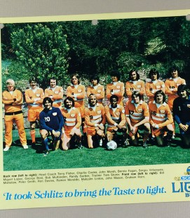 Los Angeles Aztecs 1976 Team Photo