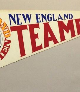 1978 New England Teamen Team Pennant