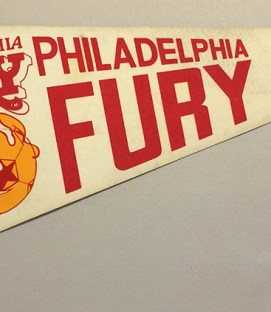 1978 Philadelphia Fury Team Pennant