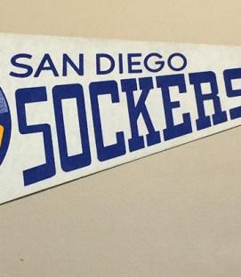 1980 San Diego Sockers Team Pennant