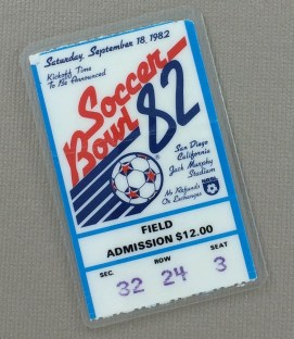 Soccer Bowl 82 Ticket