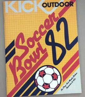 Soccer Bowl '82 Game Program