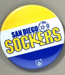 San Diego Sockers NASL Team Button