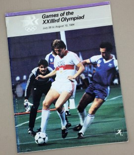1984 Olympic Soccer Program