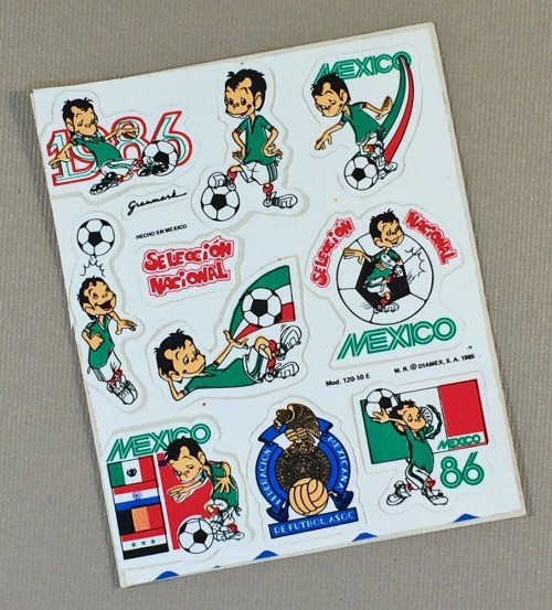 Mexico World Cup 1986 Sticker set