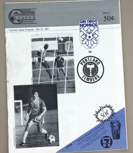 Nomads Timbers 1989 Program