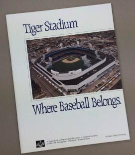 Tiger Stadium Commemorative Guide