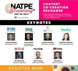 NATPE Streaming Plus Register Now Interstitial