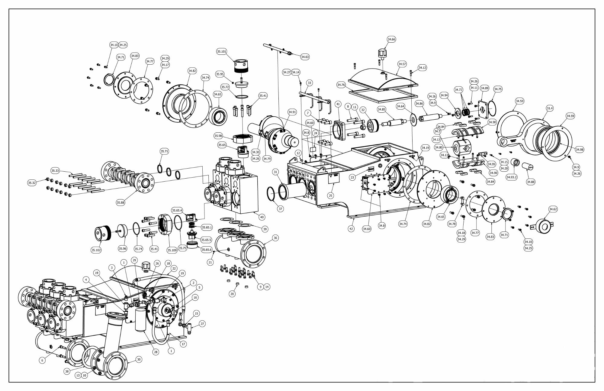 Tt 660 Pump Parts View