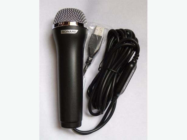 Konami USB Logitech Microphone E UR20 PS2 PS3 XBOX360