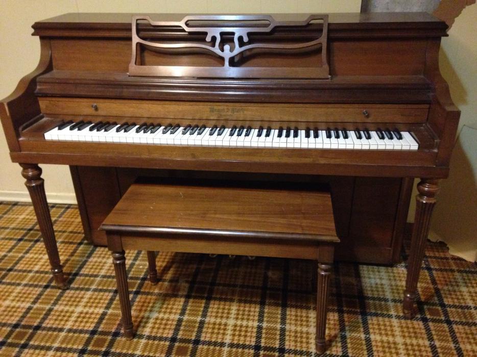 Apartment Size Piano With Bench South Regina Regina