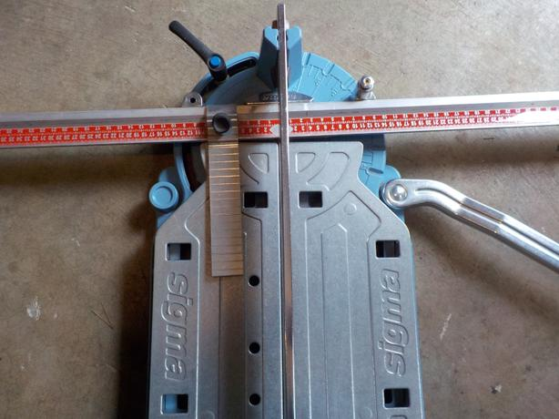 sigma tile cutter 36 inches