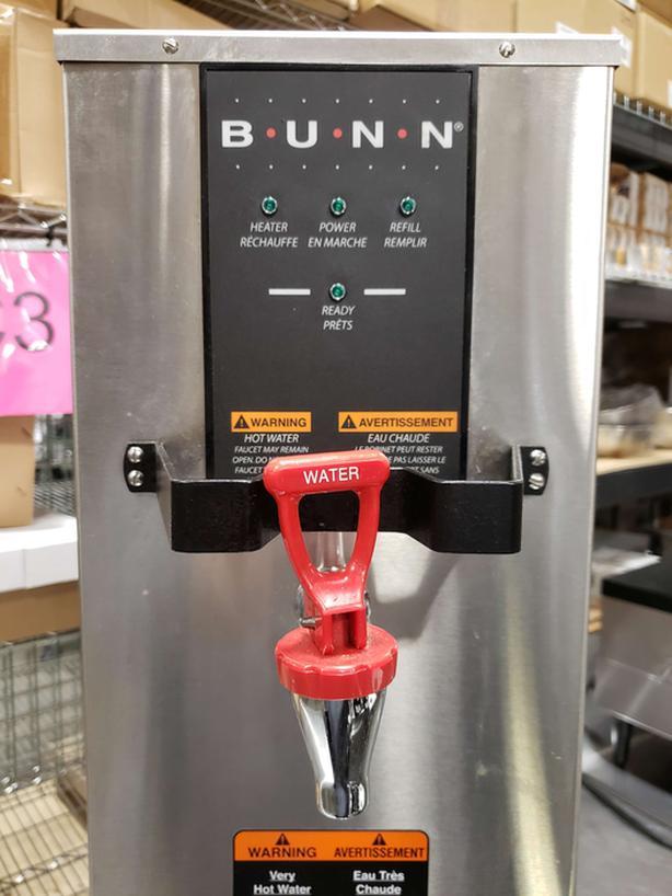 bunn hot water coffee like new