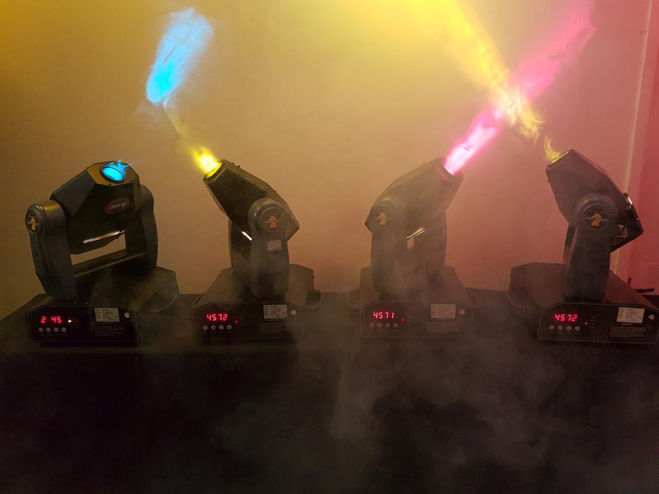 DJ Lights Moving Head Lights X4 Acme Spot Knights