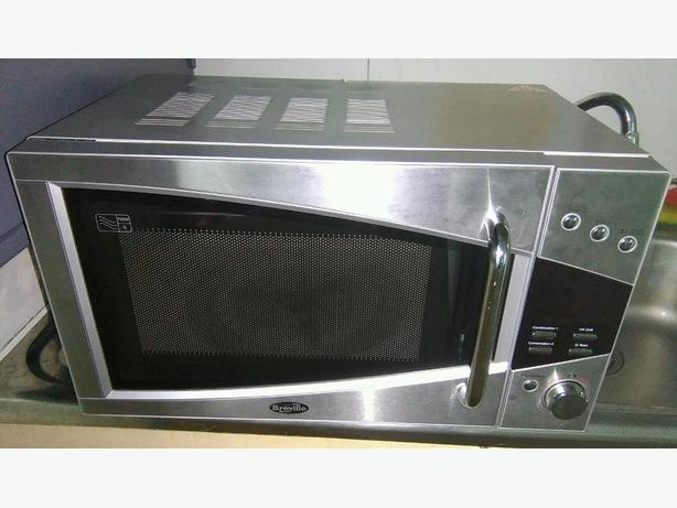 breville microwave oven grill