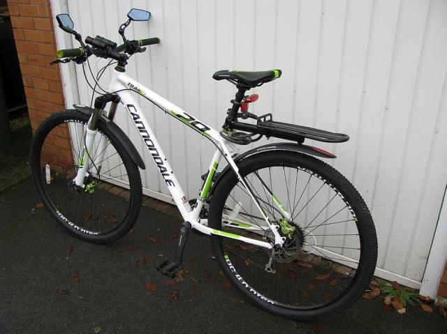 Cannondale Trail 29 4 Mountain Bike for sale Outside Black ...