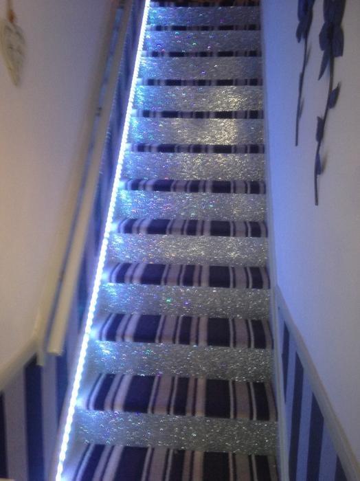 Glitter Stairs Wednesbury Wolverhampton   Glitter Stairs With Carpet