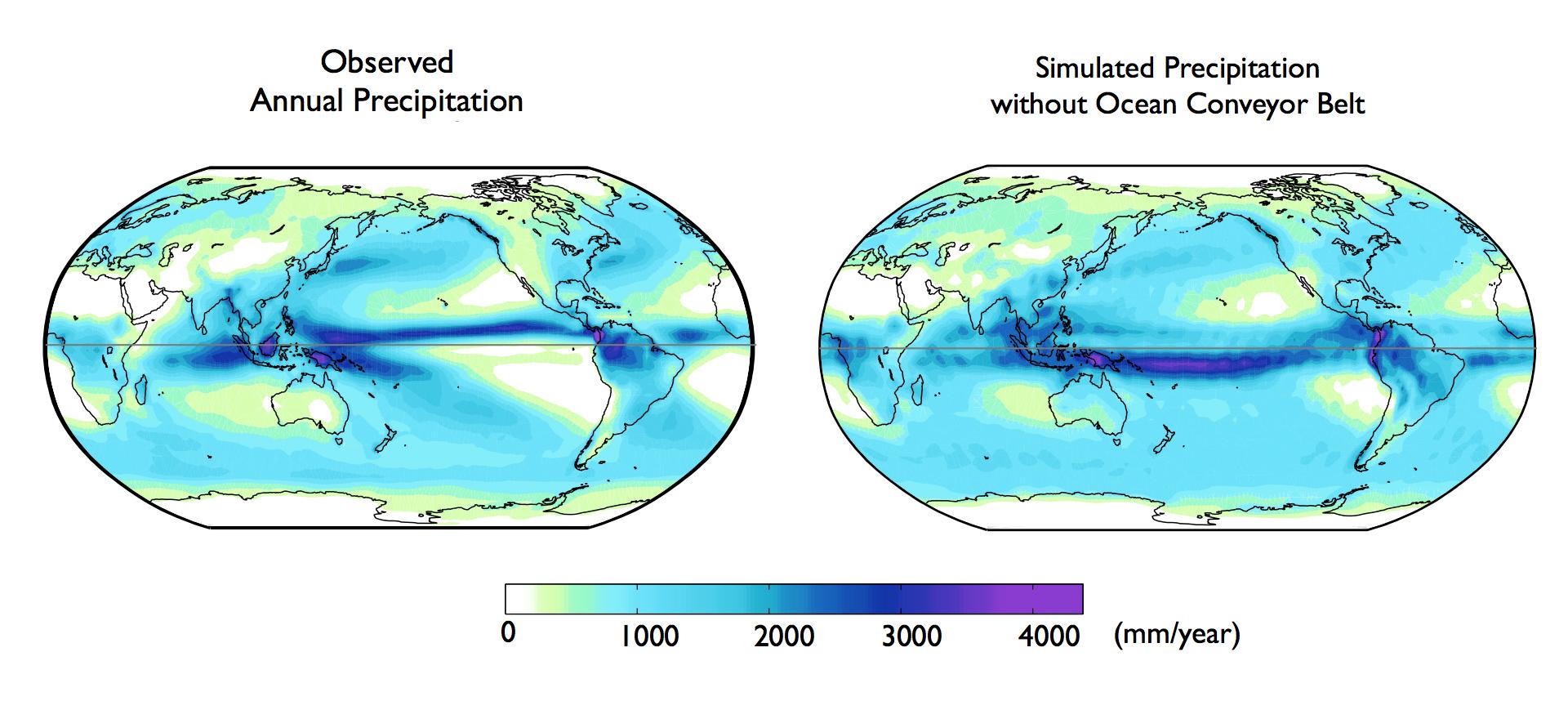 Global Ocean Currents Explain Why Northern Hemisphere Is