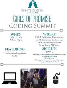 GoP Coding Summit Flyer