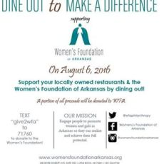 Dine Out to Make a Difference August 6th
