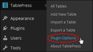 Inserting Tables Into Your Content In WordPress