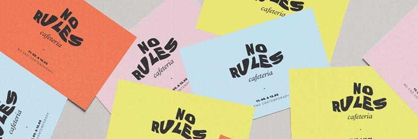 No Rules Cafeteria - Saturday Supper