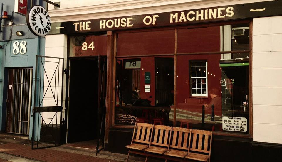Outside House of Machines