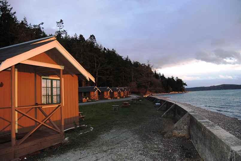 Camano Island Beach Cabins