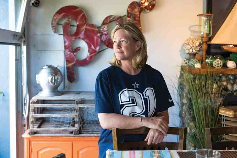 Tamra Hansen of Saltwater Cafe, Point Roberts, WA