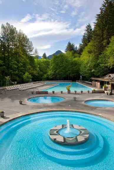 Sol Duc Hot Springs photo by Aramark