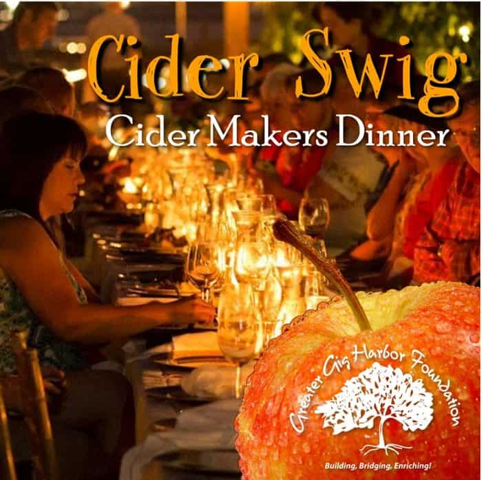 3rd Annual Cider Makers Dinner in the Vineyard