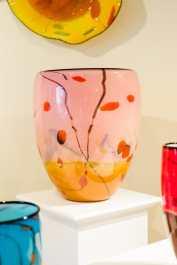 Landscape series vessel by Seattle Glassblowing Studio