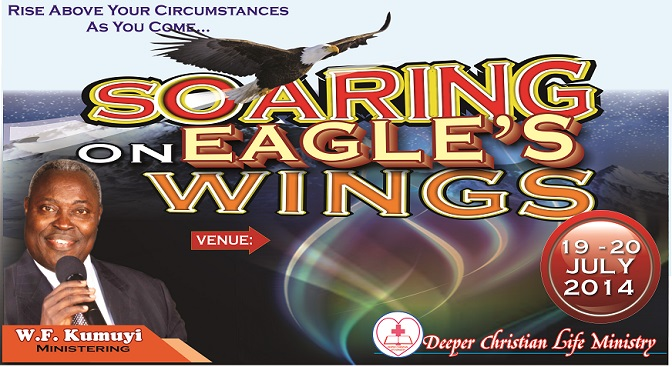 Soaring on Eagle's Wings