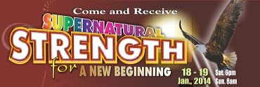 Supernatural Strength for a new Begining