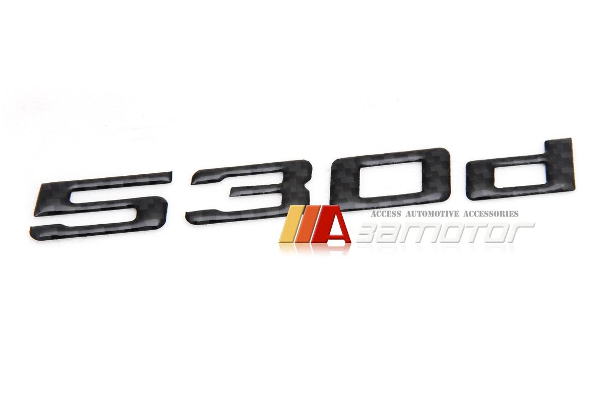 Bmw E60 F10 5 Series Rear Trunk Lid Real Carbon Fiber