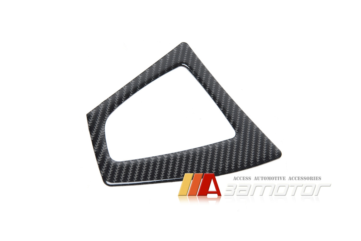 Carbon Fiber Center Console Shifter Surround A T Trim For
