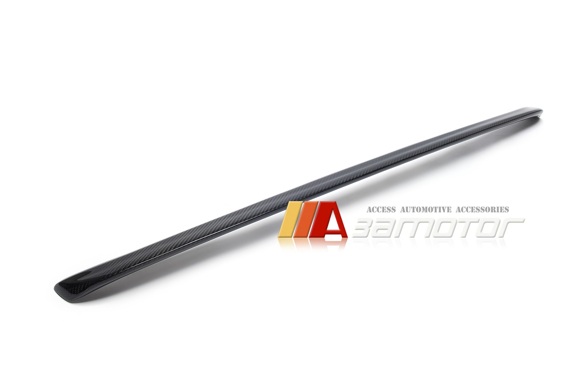 Carbon Fiber Trunk Spoiler Wing Rear Gurney Flap For