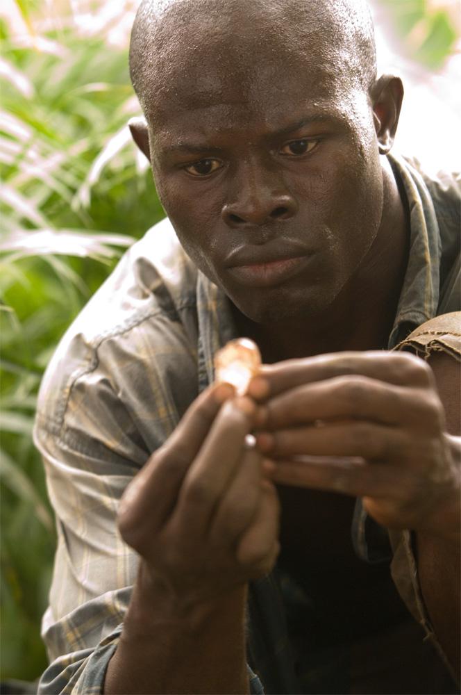 Dijmoun Hounsou from Blood Diamond