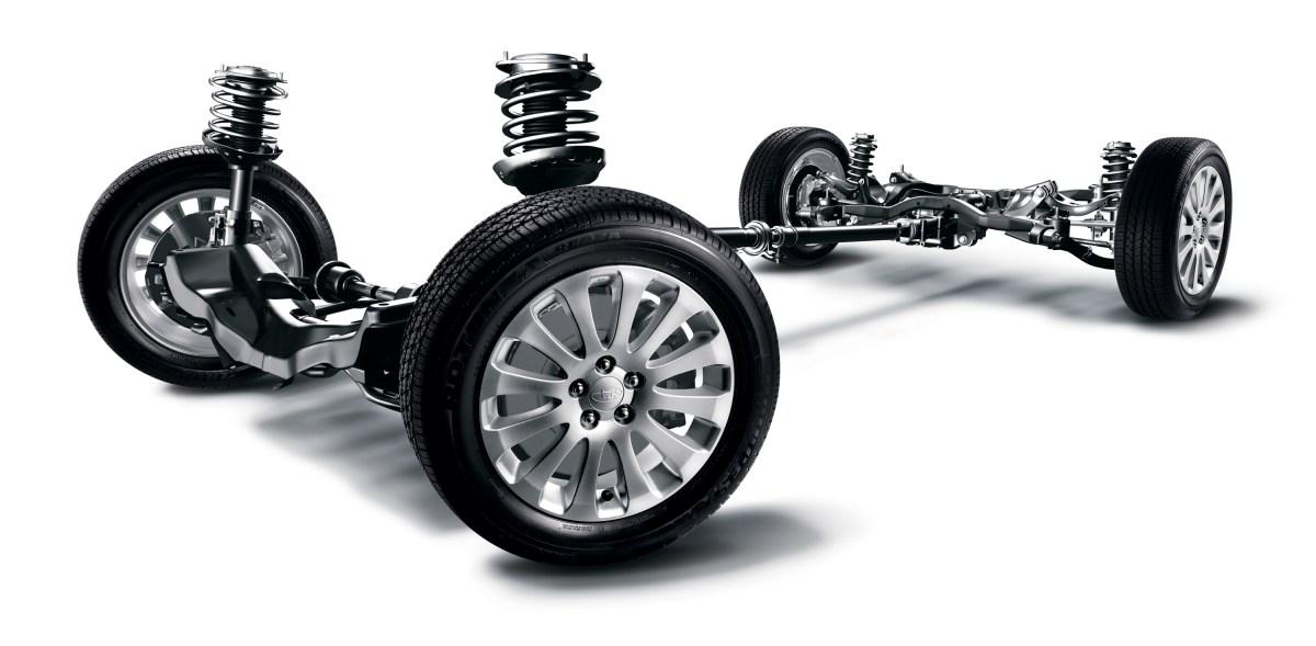 four wheel independent suspension
