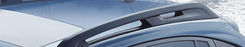 genuine subaru roof racks exterior