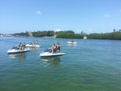 Jet-ski tour around Key West - 2014-07 - photo from Edd Cathey