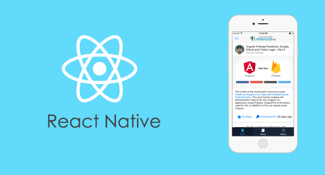Getting Started With React Native Template Design Tutorial