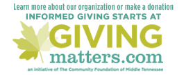 Learn more about us or make a donation at GivingMatters.com
