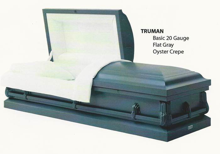 Without Casket Vault Burial