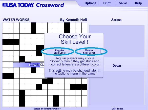 graphic regarding Printable Usa Today Crossword referred to as United states At present Crossword Assistance Expert