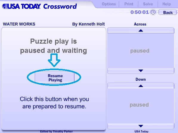 graphic relating to Printable Usa Today Crossword called United states of america Nowadays Crossword Guidance Lead